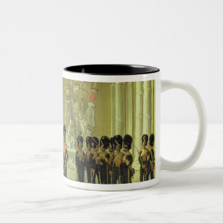 The Heraldic Hall in Winter Palace, St Two-Tone Coffee Mug