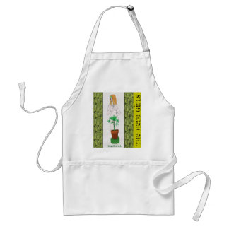 The Herb Girls: Echinacea Adult Apron
