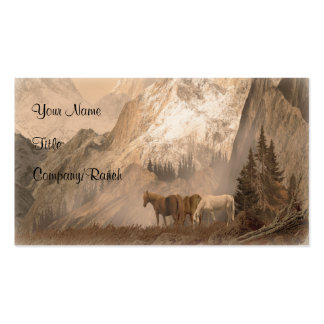 The Herd, Western Business Card