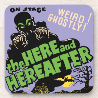 The Here and Hereafter Ghost Show Coaster Set