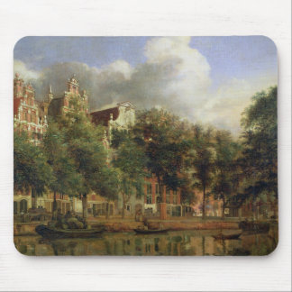 The Herengracht Amsterdam oil on panel Mouse Pad