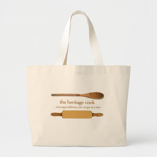 The Heritage Cook Products Large Tote Bag