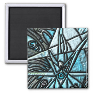 The Hermit 2 Inch Square Magnet