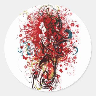 The_Hermit Classic Round Sticker
