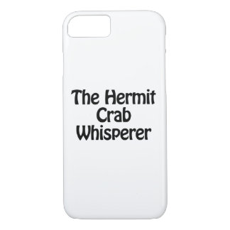 the hermit crab whisperer iPhone 8/7 case
