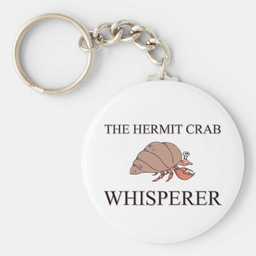 The Hermit Crab Whisperer Keychains