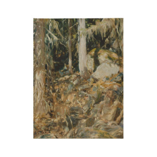 The Hermit (Il solitario) John Singer Sargent (Ame Wood Poster