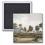 The Hermitage 2 Inch Square Magnet