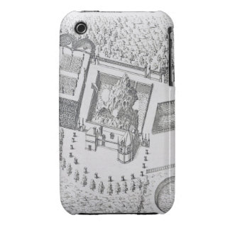 The Hermitage and the Maison Blanc at the Chateau iPhone 3 Case