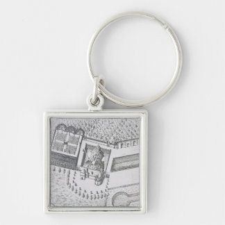 The Hermitage and the Maison Blanc at the Chateau Keychain