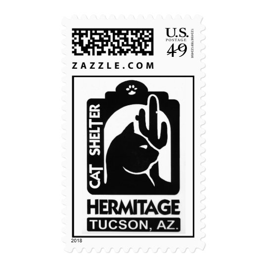 The Hermitage Cat Shelter Postage
