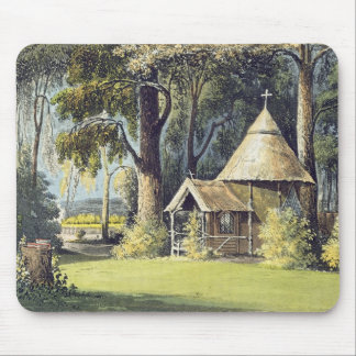 The Hermitage, from Ackermann's Repository of Arts Mouse Pad