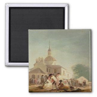 The Hermitage of San Isidro, Madrid, 1788 Magnets