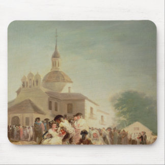 The Hermitage of San Isidro, Madrid, 1788 Mouse Pad