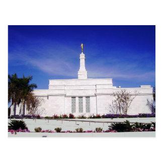 The Hermosillo Sonora Mexico LDS Temple Postcard