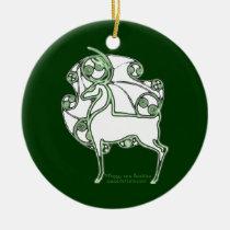 The Herne Celtic Deer ornament