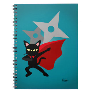 The hero came! spiral notebooks