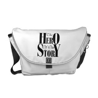 The Hero of our Story messenger bag