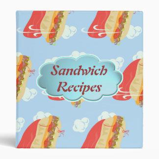 The Hero Sandwich Custom Binder