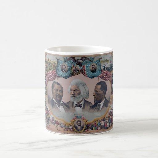 """The Heroes Of The Colored Race"" Coffee Mug"