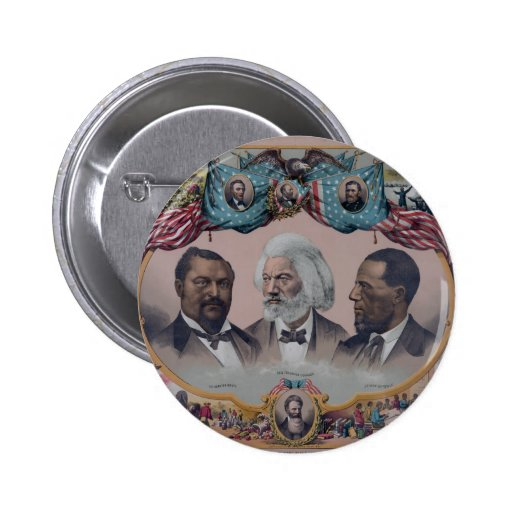 """The Heroes Of The Colored Race"" Pins"