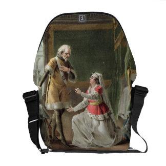 The Heroic Devotion of Marguerite of Provence (121 Messenger Bag