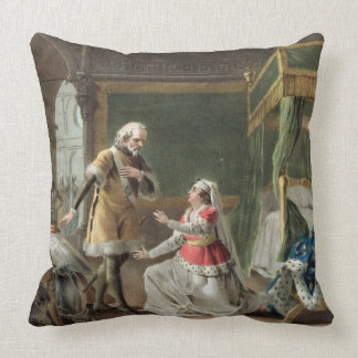 The Heroic Devotion of Marguerite of Provence (121 Throw Pillow