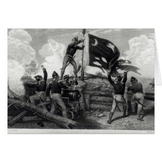 The Heroism of Sergeant William Jasper Greeting Card