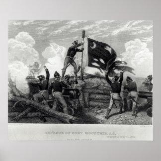The Heroism of Sergeant William Jasper Poster