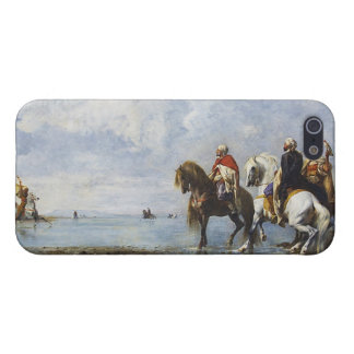 The Heron Hunt by Eugene Fromentin 1865 Case For iPhone SE/5/5s