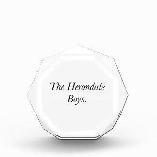 The Herondale Boys Acrylic Award