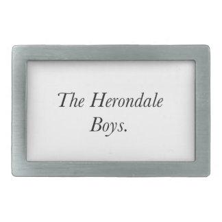 The Herondale Boys Belt Buckle