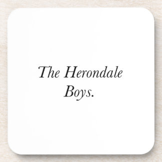 The Herondale Boys Beverage Coasters