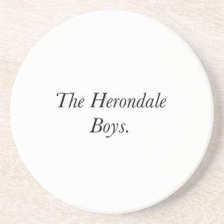 The Herondale Boys Drink Coaster