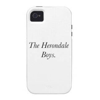 The Herondale Boys iPhone 4 Cover