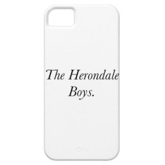 The Herondale Boys iPhone 5 Covers