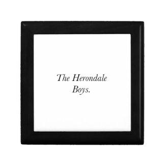 The Herondale Boys Keepsake Box