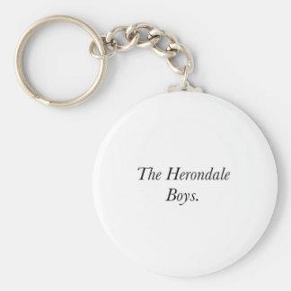 The Herondale Boys Key Chain