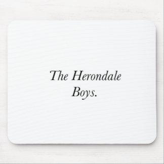 The Herondale Boys Mousepad