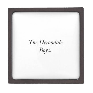 The Herondale Boys Premium Keepsake Box