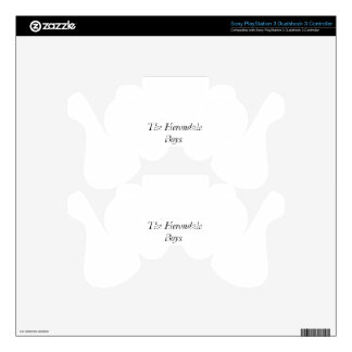 The Herondale Boys PS3 Controller Decals