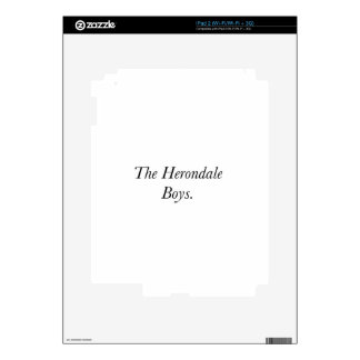 The Herondale Boys Skins For The iPad 2
