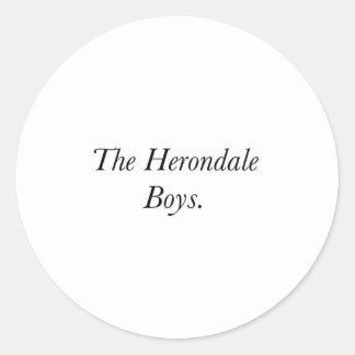 The Herondale Boys Sticker