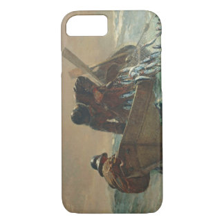 The Herring net, 1885 (oil on canvas) iPhone 8/7 Case