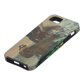 The Herring net, 1885 (oil on canvas) iPhone SE/5/5s Case