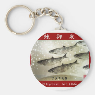 The herring palace (your herring te it is) basic round button keychain