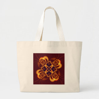 the hex large tote bag