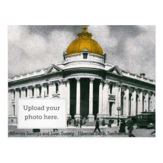 The Hibernia Savings and Loan Society Postcard