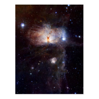 The hidden fires of the Flame Nebula Postcard