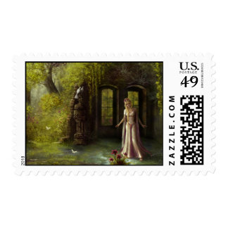 The Hidden Place Postage Stamp